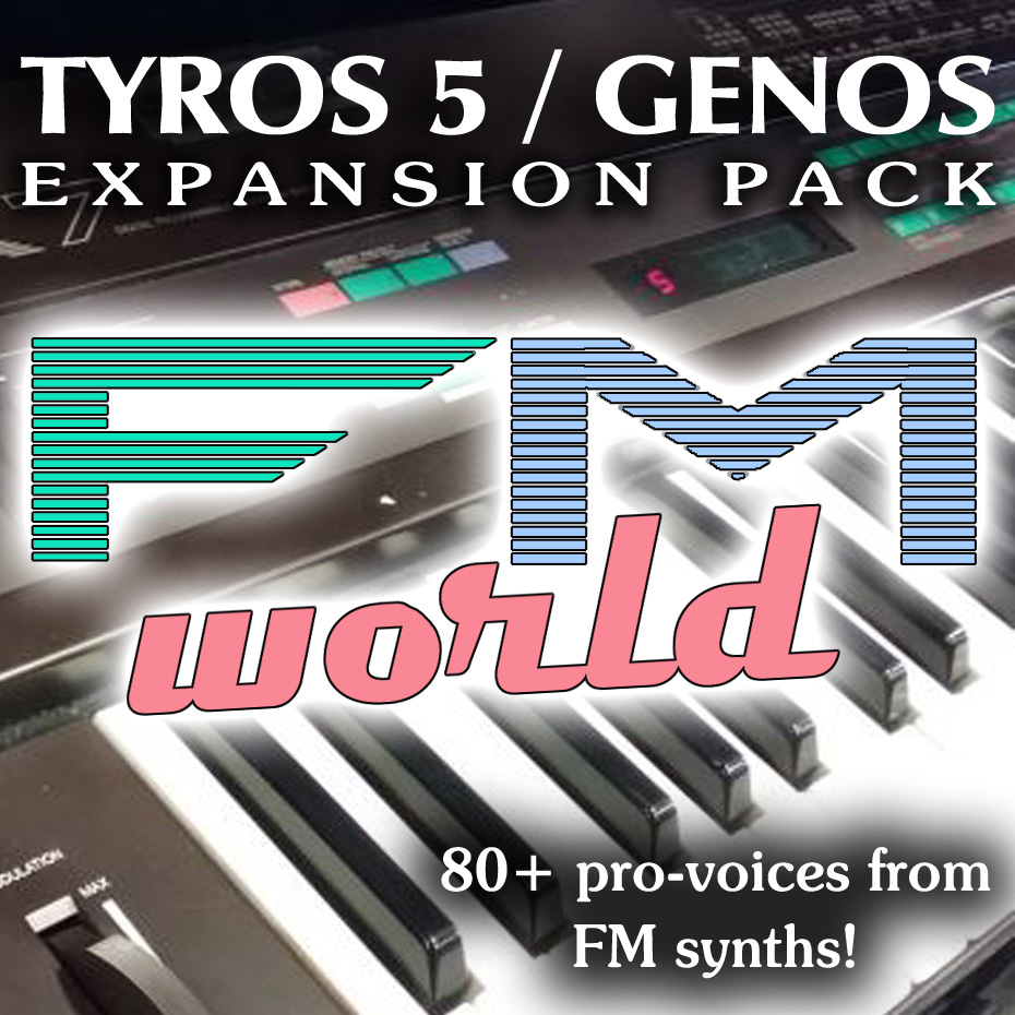 Yamaha Genos Expansion Pack with sounds from FM synthesis