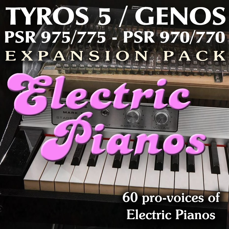 Expansion pack for Yamaha Arrangers with sounds from Elelctric Pianos
