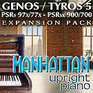 Yamaha Exapnsion Pack Manhattan PIANO