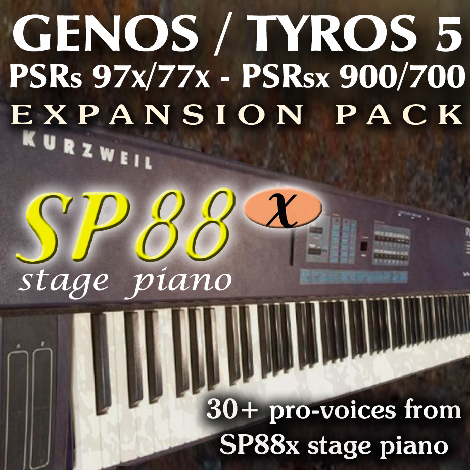 Kurtzweil SP88x Stage Piano Expansion Pack for Yamaha Arrangers